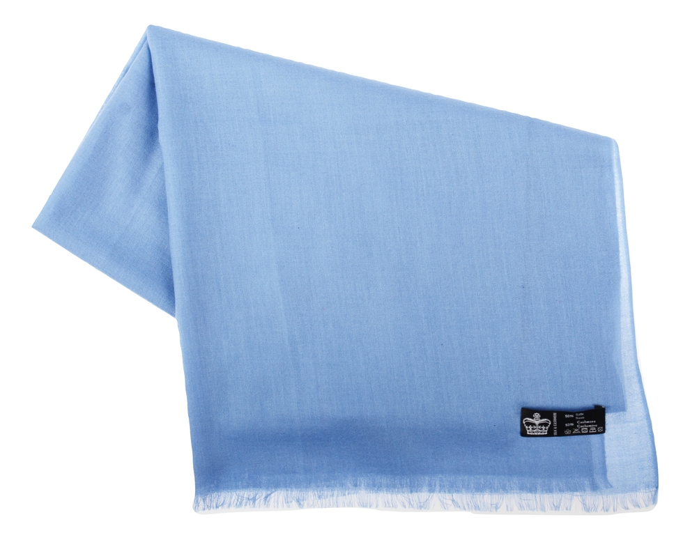 Étole Pashmina Blueprint - Vêtements laine geelong