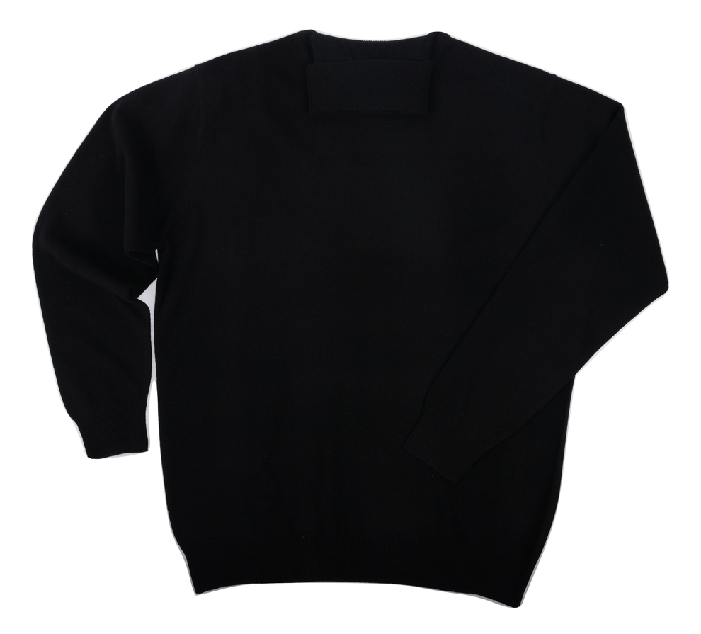 Col roulé Cachemire Black - Vêtements laine geelong