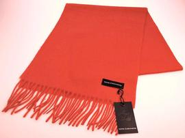 Echarpe Cachemire Orange - Vêtements laine geelong