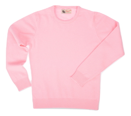 Connie, Couleur Candy, Pull Ras de cou en 100% lambswool - Vêtements laine geelong