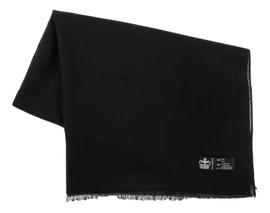 Étole Pashmina Black - Vêtements laine geelong