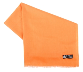 Étole Pashmina Orange - Vêtements laine geelong