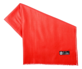 Étole Pashmina Red - Vêtements laine geelong