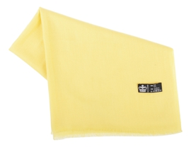Étole Pashmina Yellow - Vêtements laine geelong