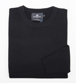 Ras de cou Cachemire Black - Vêtements laine geelong
