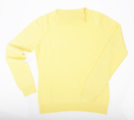 Col roulé Cachemire Yellow - Vêtements laine geelong
