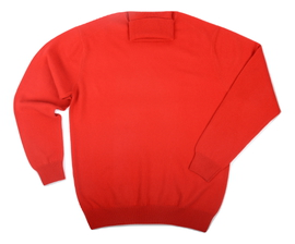 Col roulé Cachemire Red - Vêtements laine geelong