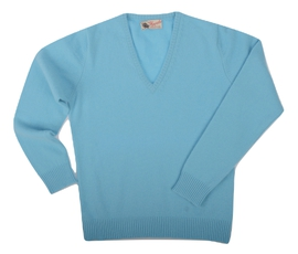 Wendi, Couleur Antiqua, Pull col V en 100% lambswool - Vêtements laine geelong